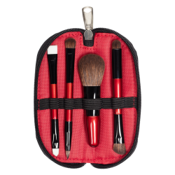 Travel Brush Set (4 PCS) RED