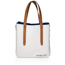 Shopping Bag White & Blue
