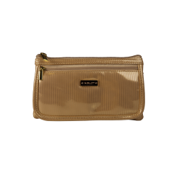 Cosmetic Bag Gold & Pink