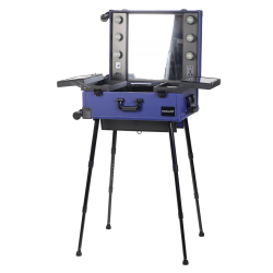PORTABLE LIGHTED MAKEUP STATION WHITE KC-210 Icon