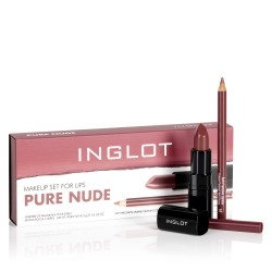 INGLOT MAKEUP SET FOR LIPS PURE NUDE Icon